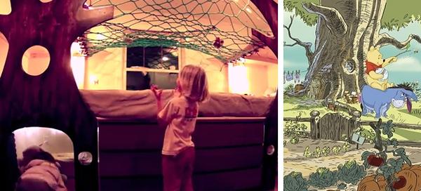 20 måter foreldre har forvandlet barnas soverom til et eventyrlig ...