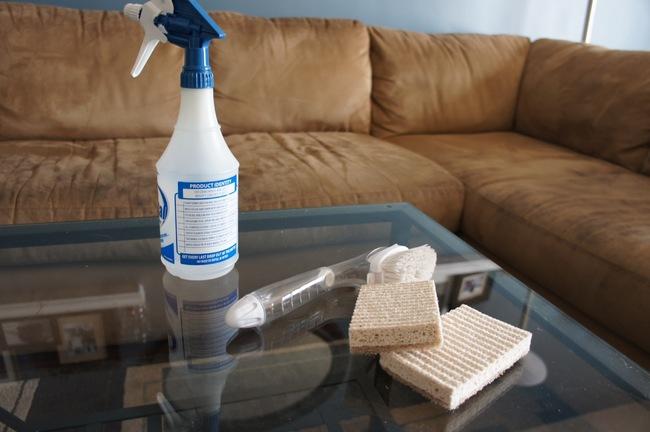 Hvordan vaske microfiber sofa