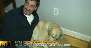 Denne blinde mannen ble kastet ut av flyet. Så skjedde det noe helt utrolig.