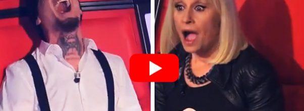 The Voice-dommerne elsket stemmen hennes, men da de snudde seg rundt for å se hvem det var… OMG!