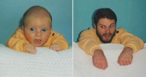 To brødre bestemte seg for å gjenskape barndomsbildene. Resultatene fikk meg til å humre godt.