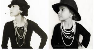 Denne mammaen kledde ut sin datter som berømte kvinner fra fortiden. Originalt og søtt.