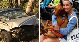 Fyllekjører drepte kvinne på tur med hund, hund flyktet i panikk. Det som skjedde videre = UTROLIG.