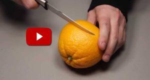 Jeg ante ikke at man kunne gjøre dette med en appelsin. Dette burde alle prøve.