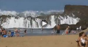 Verdens mest utrolige strand. Se, og du vil skjønne hvorfor. Wow.