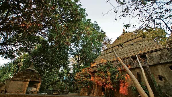 built-temple