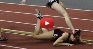 Denne løperen falt og slo seg kraftig. Så forbløffet hun hele publikum ved å gjøre dette.