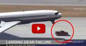 Et fly hadde en feil med landingshjulene… Så skjedde DETTE. Må ses.