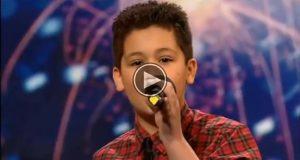 Selv Simon måtte bøye seg i støvet, etter at denne 12 år gamle gutten YDMYKET ham.