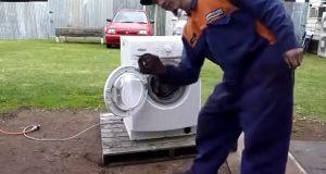 Minn meg på å aldri legge et av disse objektene i vaskemaskinen. Herregud, dette er sykt.
