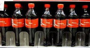 Noen fant alle navnene fra «Mambo No. 5» på colaflasker.