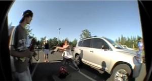 Skatere fant babyer fanget i en varm bil. Så gjorde de noe utrolig.