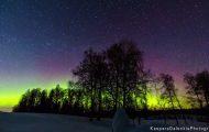 Denne forbløffende timelapse-videoen fanger nordlysets fantastiske skjønnhet. Spektakulært.
