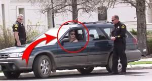 Jeg ville fått hetta hvis en politimann kom mot bilen min og gjorde dette. Aldri i livet.