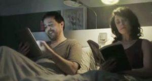 Hun var lei av mannen og hans iPad. Løsningen hennes? Genialt.