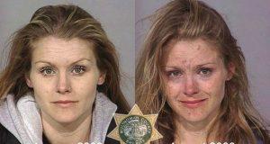 Disse før og etter-bildene av stoffmisbrukere er absolutt skremmende. Og ekle.