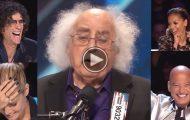 Denne 84-åringens skitne låt tok både dommerne og publikum på senga!