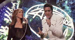 Elvis og Celine Dion stjeler showet idet denne «umulige» duetten blir bragt til liv.