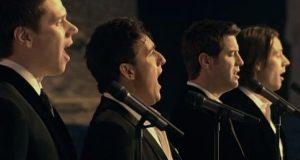 Fire menn fremfører en helt unik versjon av «Amazing Grace» – forbered deg på gåsehud.