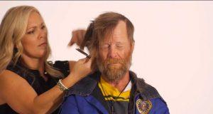 Denne hjemløse veteranen fikk en makeover. «Helt teit»? Slutten vil endre den oppfatningen.