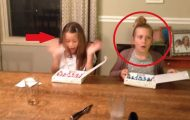 Det beste du kommer til å se i dag er disse jentenes reaksjon på morens store overraskelse.