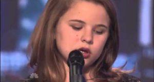 Denne tiåringen synger en ekstremt vanskelig sang og treffer spikeren på hodet. Dommerne blir målløse.