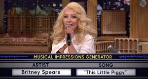 Jeg er ikke verdens største Christina Aguilera-fan, men Britney-imitasjonen hennes?! WOW.