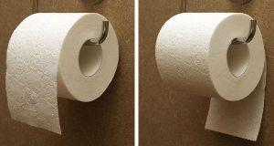 Debatten om riktig vei er endelig over. Nå avsløres FASITEN for bruk av toalettpapir.
