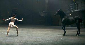 Når ballerinaen begynner å danse, følg med på hesten… Utrolig.