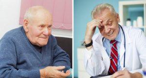 Legen vil at 85-åringen skal gi en spermprøve. Det den gamle gubben svarer da, er uslåelig.