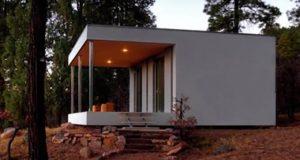 Dette huset koster bare litt over 150 000,- og kan settes opp på én dag.