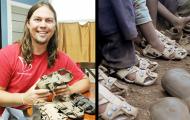 Denne fyren har oppfunnet sandaler som vokser over 5 år, noe som hjelper millioner av fattige barn.
