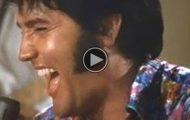Den gangen i 1969 da Elvis lo SÅ hardt at han ikke kunne fullføre sangen! Herlig!