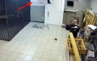 Butikkeieren var drittlei av å bli ranet, så han satte opp den mest fantastiske fellen noensinne.