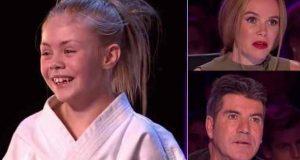 Jenta ser kanskje søt ut, men juryens sjokkerte reaksjon idet hun begynner er uslåelig.