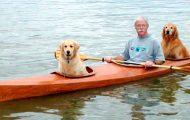 Han hadde to hobbyer: Kajakk og sine elskede hunder. Så han gjorde DETTE.