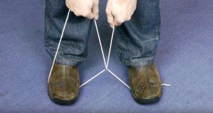 Det han gjør med tauet mellom beina kan en dag redde ditt liv.