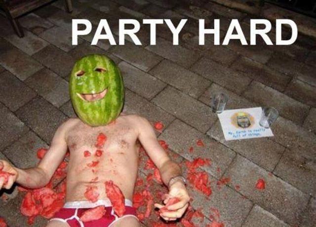 1 - Fester du hardt nok vil du bli til en melon