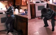 Bestemor hadde bare tenkt å lage middag. Så ble favorittsangen satt på… FOR en dame.