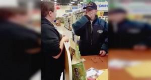 Veteranen prøver å kjøpe tilbake hundene sine fra krisesenteret. Responsen hans sprer seg nå VIRALT.