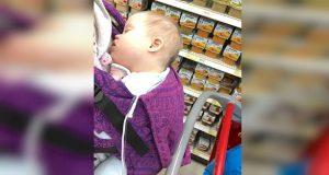 En fremmed kjefter på henne for å bære babyen inntil kroppen. Jeg ventet ikke at hun skulle si DETTE.