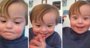 Denne herlige gutten med Downs øver på ABC, og nå har han stjålet hjertene til over 13 millioner mennesker.