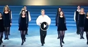 For 21 år siden etterlot Michael Flatleys SISTE Riverdance-oppvisning millioner i tårer. WOW.