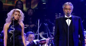 To latterlig talentfulle sangere slår seg sammen for å fremføre «The Prayer» – dette er forbløffende.