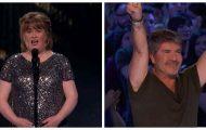Susan Boyle er tilbake med beskjed – Simon helt fra seg av begeistring når hun begynner å synge.
