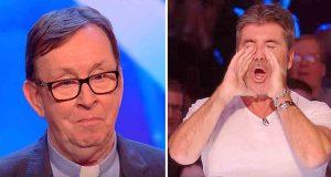 Publikum i tårer etter irsk prests sang, Simon erklærer det en av sine «favorittauditions» noensinne.