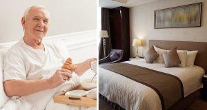 Pensjonistparet dropper gamlehjem – tar heller inn på hotell. Idéen deres tar av på nettet!