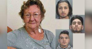 77 år gammel pensjonist tar ut penger da 3 menn dukker opp – men de valgte feil dame å rane.