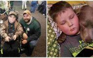 Denne kreftsyke gutten ville bare dø. Da ga pappaen ham et løfte som gir oss tårer i øynene.