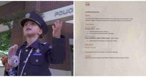 Jente (4) søkte jobb som politi. «CV-en» hennes er noe av det beste, noensinne.